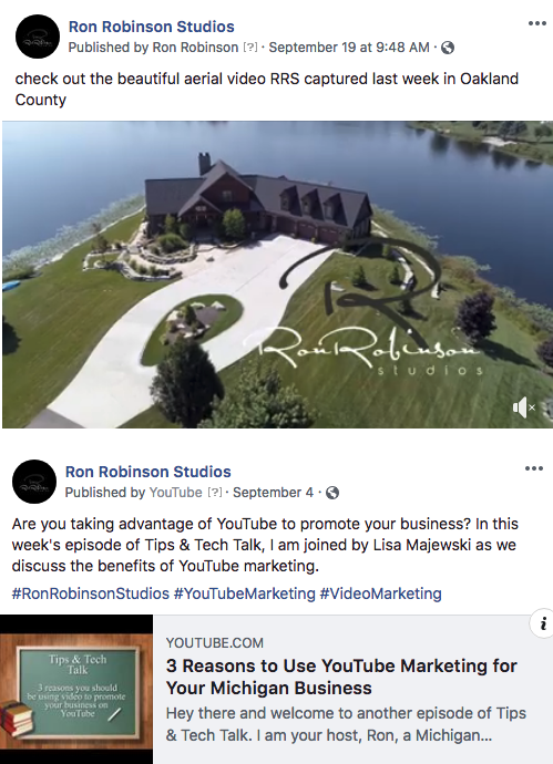 Michigan Video Marketing Company Discusses 2018 Facebook Algorithm