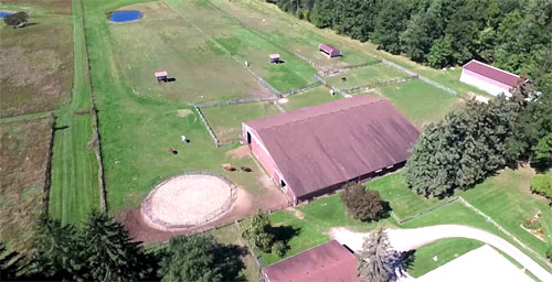 Aerial Farm Photography