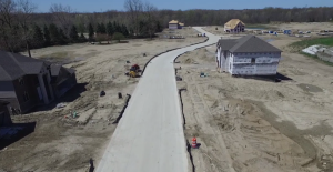 Construction, Industry and Landscaping Drone Video